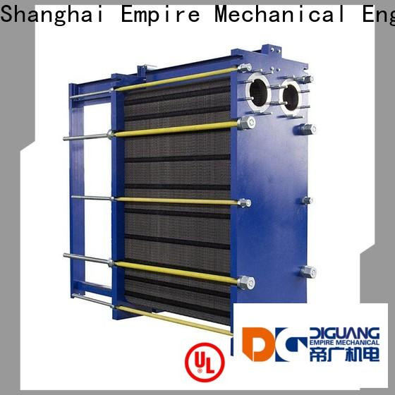 New plate heat exchanger price factory for transferring heat