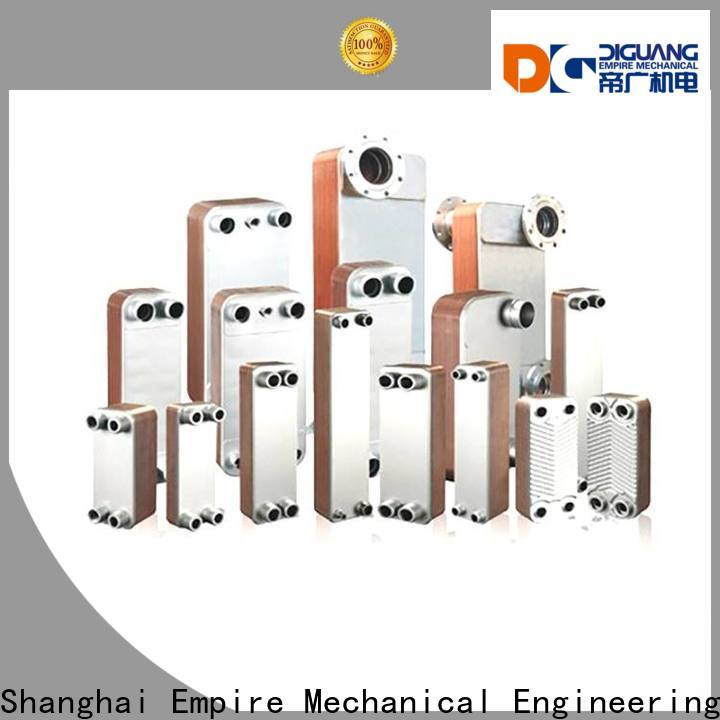 DIGUANG Top gasketed heat exchanger factory for transferring heat
