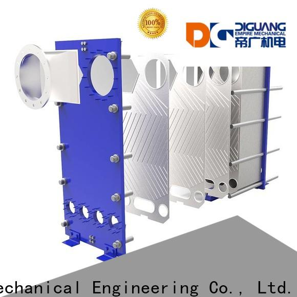 DIGUANG Latest welded plate heat exchanger design company for transferring heat