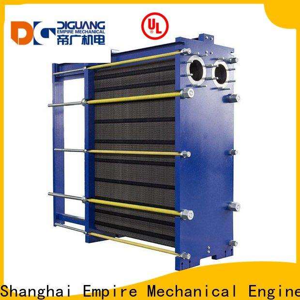 DIGUANG double wall brazed plate heat exchanger for business for transferring heat