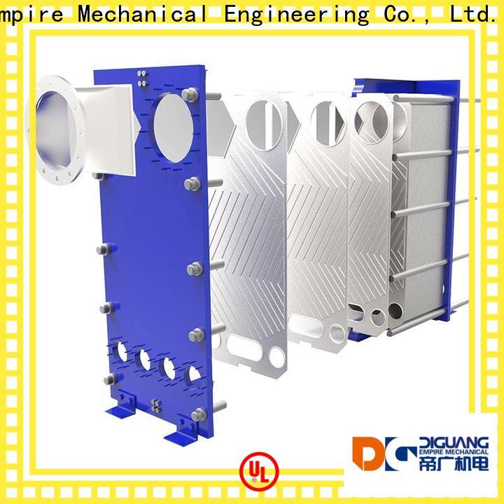 DIGUANG gasketed heat exchanger factory for transferring heat