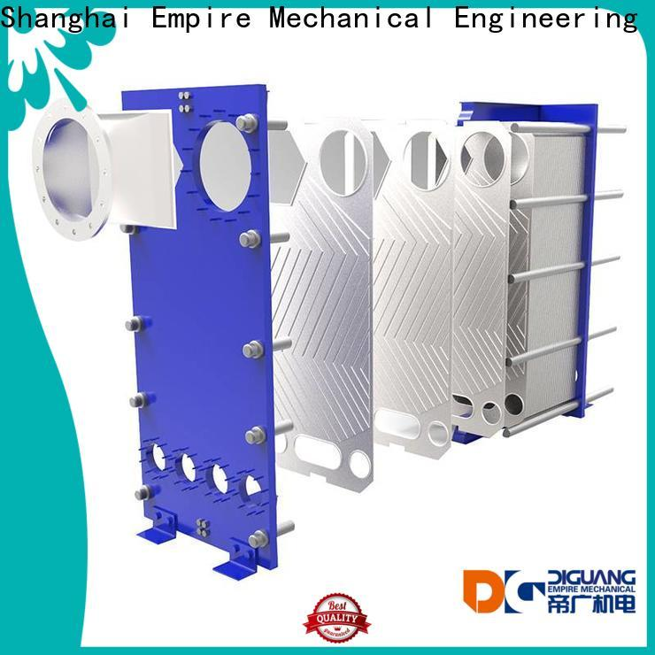 Custom hot water plate heat exchanger factory for transferring heat