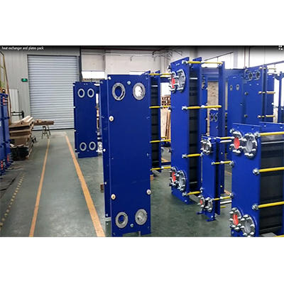 we will assemble other unfinished heat exchanger and test.