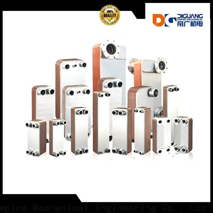 DIGUANG Top brazed plate heat exchanger manufacturers for transferring heat