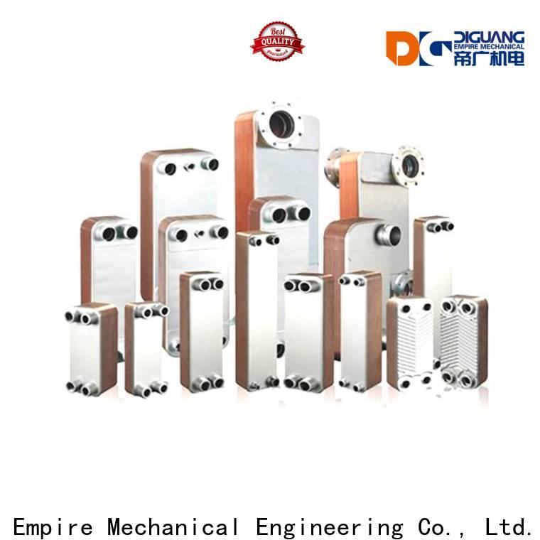 Top stacked plate heat exchanger for business for transferring heat