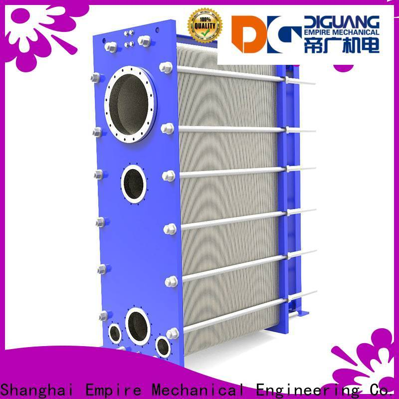 DIGUANG High-quality plate and frame heat exchanger efficiency company for transferring heat