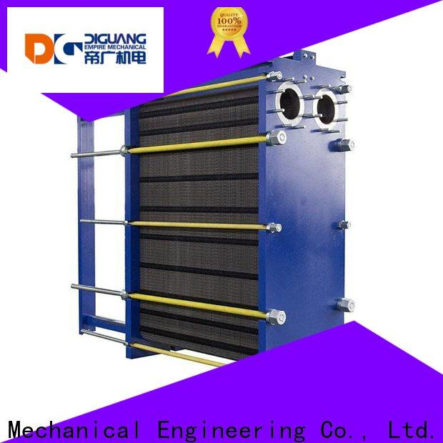 DIGUANG Wholesale water to water plate heat exchanger company for transferring heat