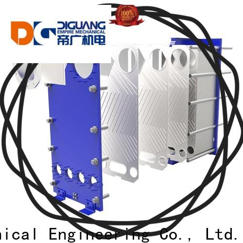 DIGUANG plat heat exchanger company for transferring heat