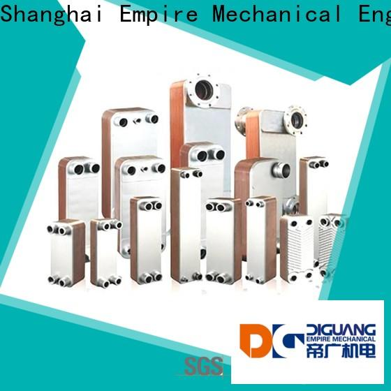 DIGUANG semi welded plate heat exchanger Supply for transferring heat