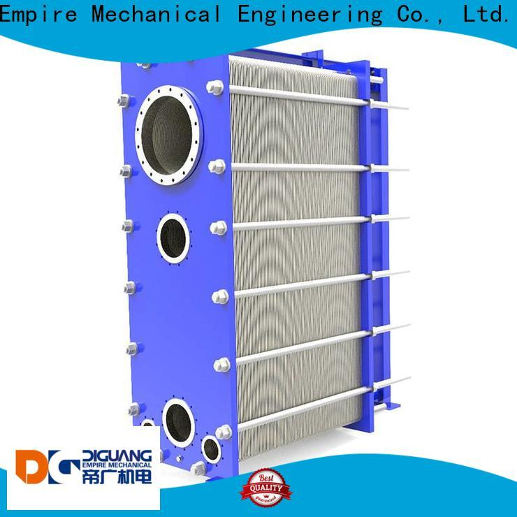 DIGUANG water to water plate heat exchanger Suppliers for transferring heat