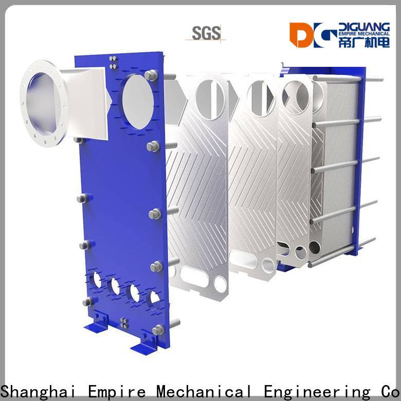 DIGUANG plate heat exchanger installation Supply for transferring heat