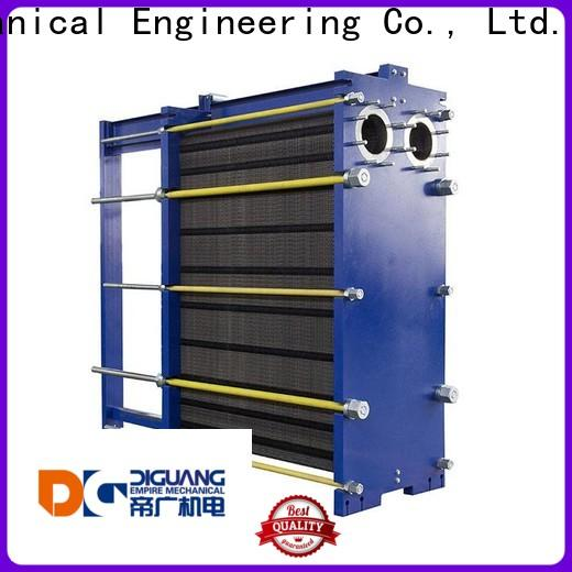 DIGUANG Wholesale plate water to water heat exchanger Supply for transferring heat