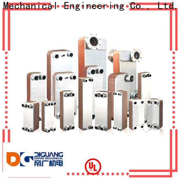 DIGUANG Custom high quality brazed heat exchanger Suppliers for transferring heat