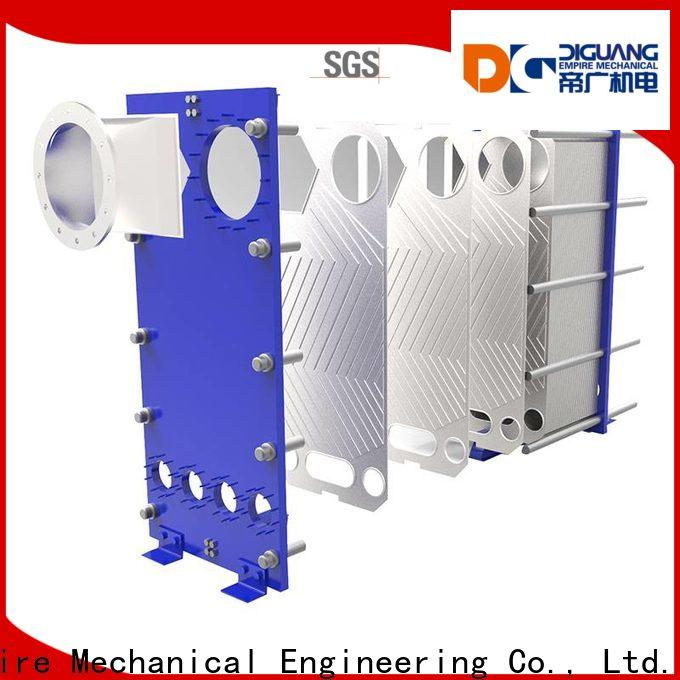 DIGUANG plate heat exchanger design manufacturers for transferring heat
