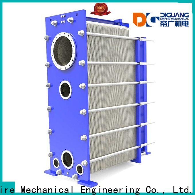 DIGUANG welded plate and frame heat exchanger Suppliers for transferring heat