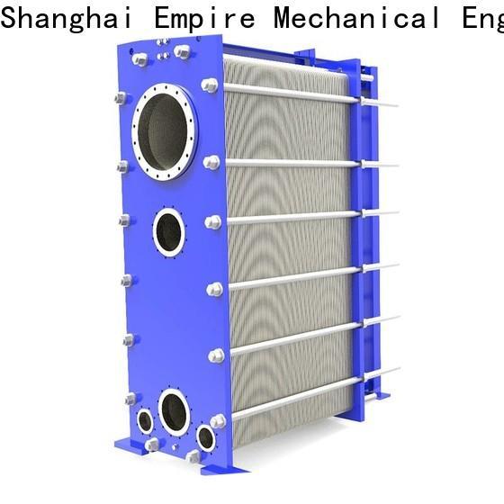 Shanghai Empire welded plate heat exchanger Supply for transferring heat