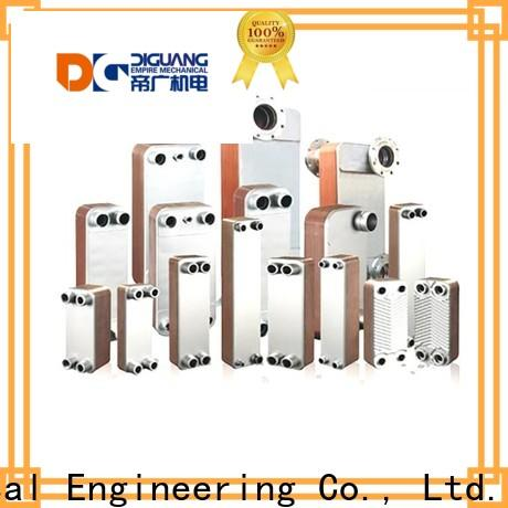 DIGUANG flat plate heat exchanger installation factory for transferring heat