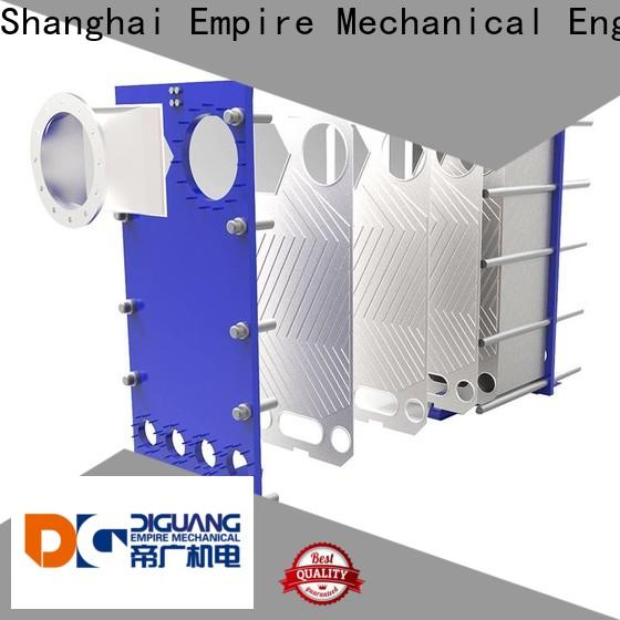 DIGUANG stacked plate heat exchanger factory for transferring heat