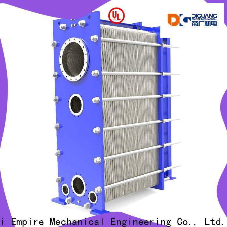 DIGUANG Shanghai Empire plate type heat exchanger design factory for transferring heat