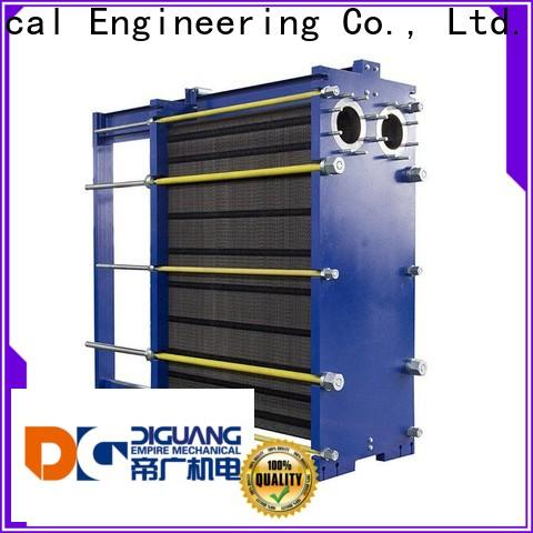 DIGUANG plate heat exchanger cost company for transferring heat