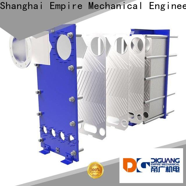 DIGUANG New plate heat exchanger condenser Suppliers for transferring heat
