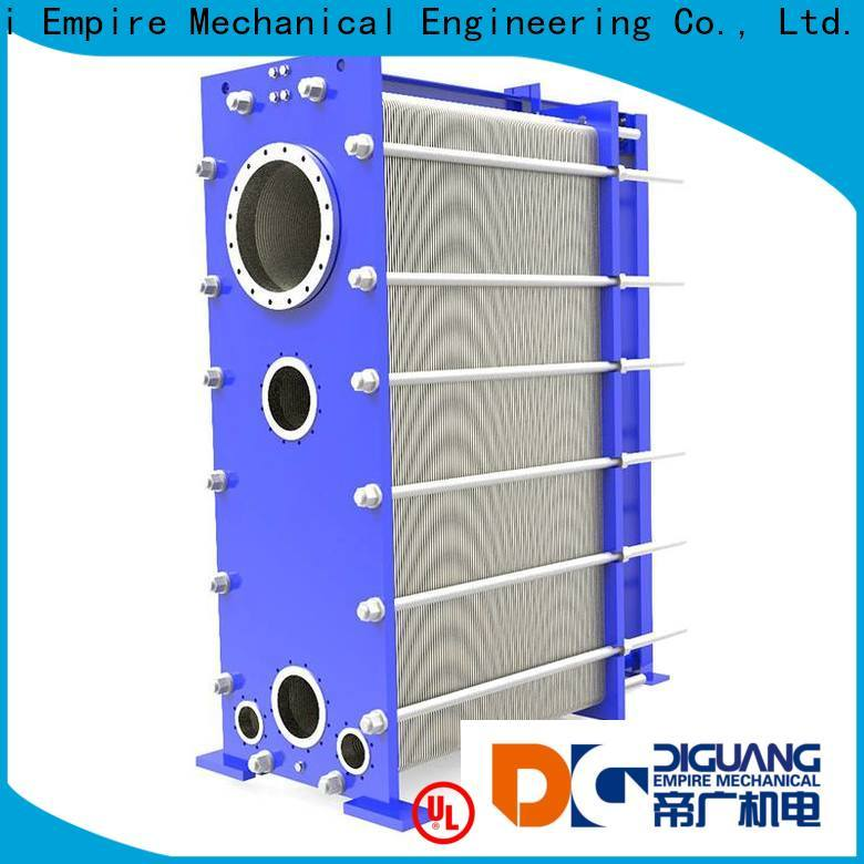 Wholesale OEM water to water plate heat exchanger Supply for transferring heat
