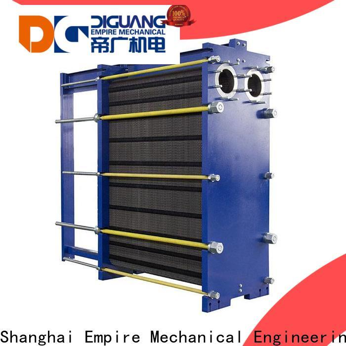 Custom ODM welded plate and frame heat exchanger manufacturers for transferring heat
