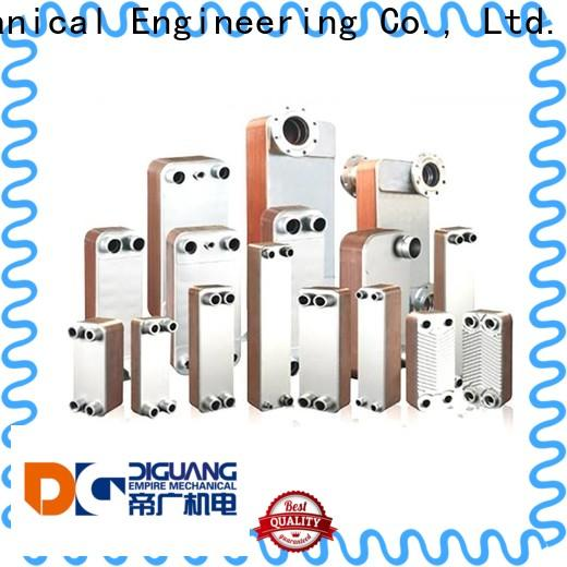 Wholesale stacked plate heat exchanger factory for transferring heat