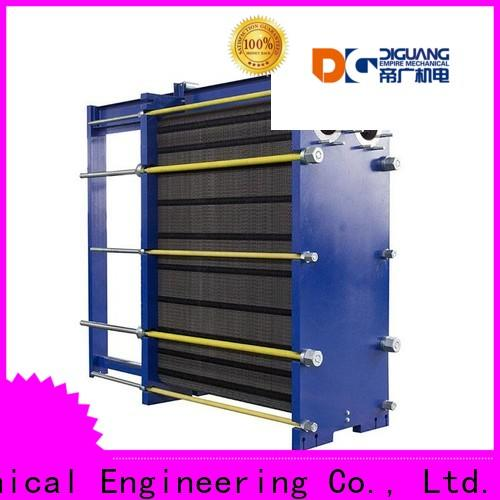 DIGUANG semi welded plate heat exchanger manufacturers for transferring heat