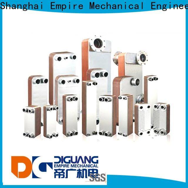 Shanghai Empire plate frame heat exchanger factory for transferring heat