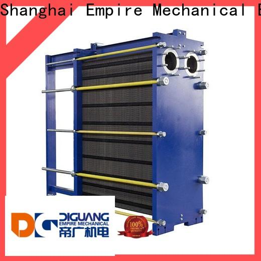 DIGUANG double wall plate heat exchanger factory for transferring heat