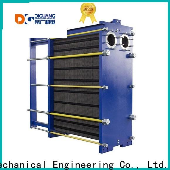 DIGUANG welded plate and frame heat exchanger manufacturers for transferring heat