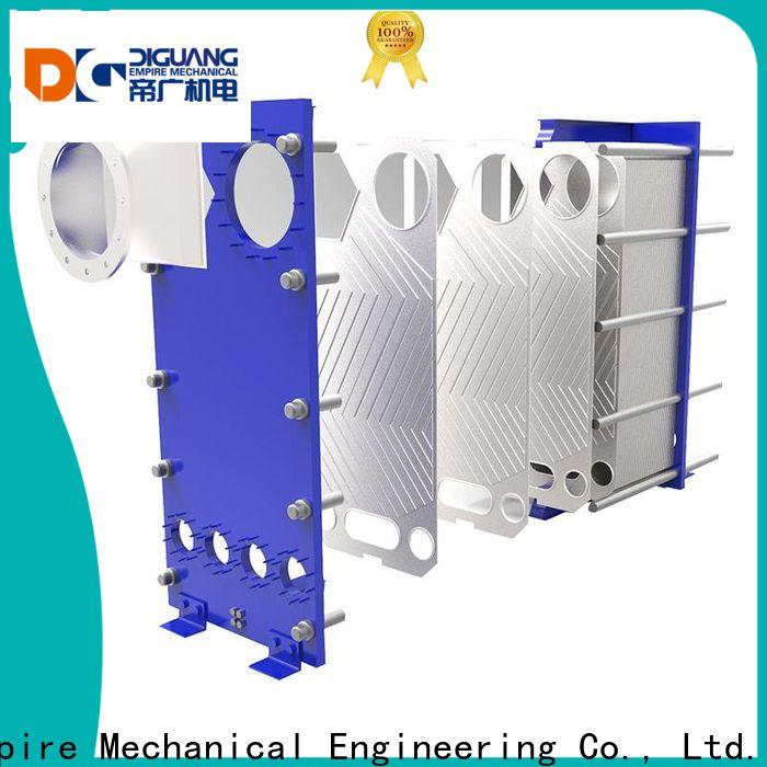 DIGUANG Shanghai Empire plate and frame exchanger company for transferring heat