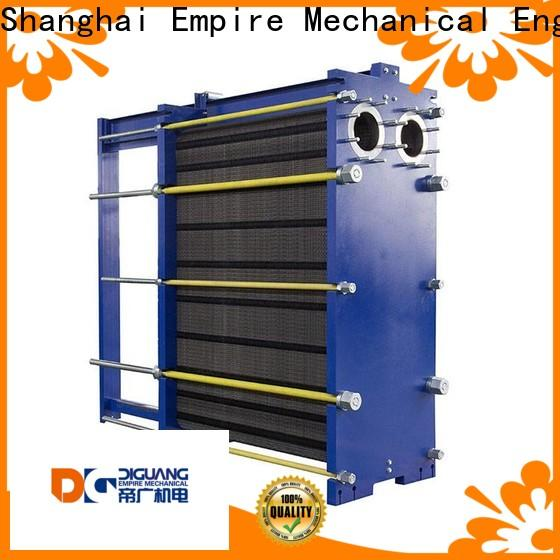 Custom ODM double wall plate heat exchanger company for transferring heat