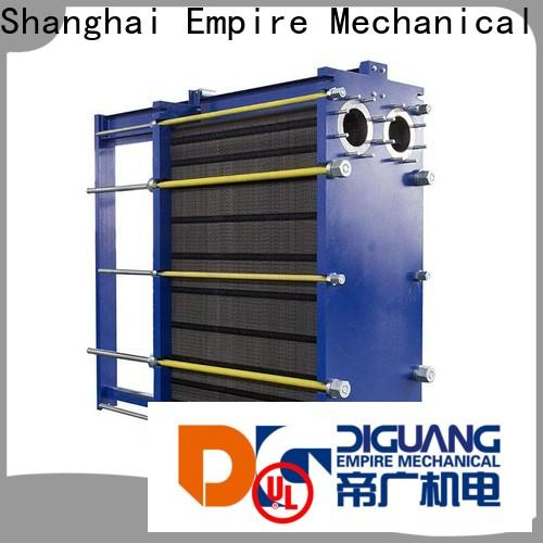 Wholesale water to water plate heat exchanger Suppliers for transferring heat