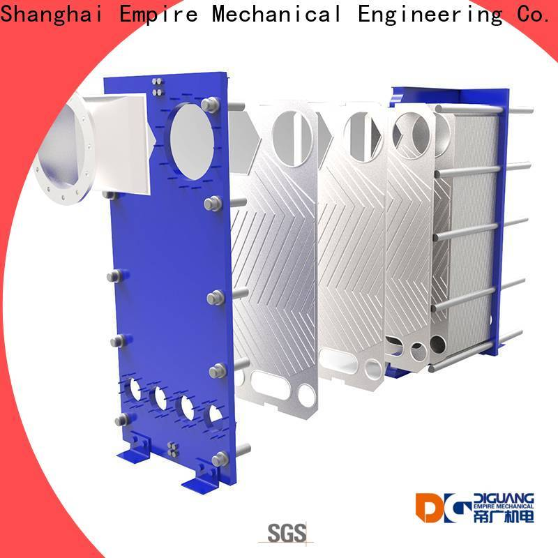 DIGUANG plate heat exchanger condenser Suppliers for transferring heat