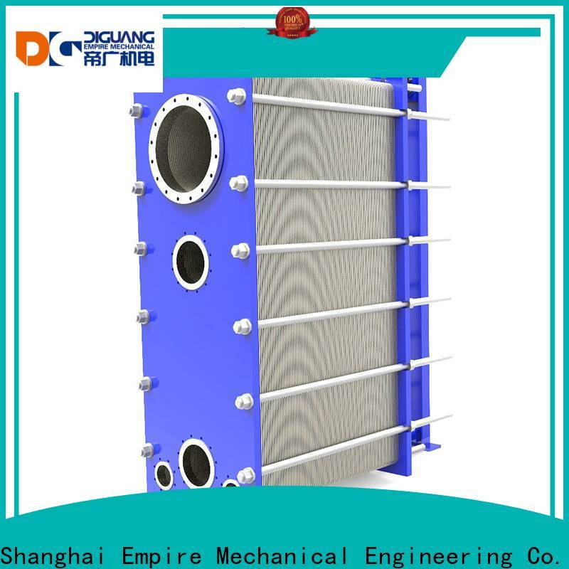 Custom OEM plate type heat exchanger calculation Suppliers for transferring heat