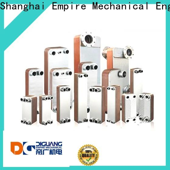 DIGUANG plate type heat exchanger calculation for business for transferring heat