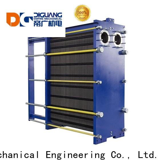 DIGUANG plat heat exchanger Suppliers for transferring heat
