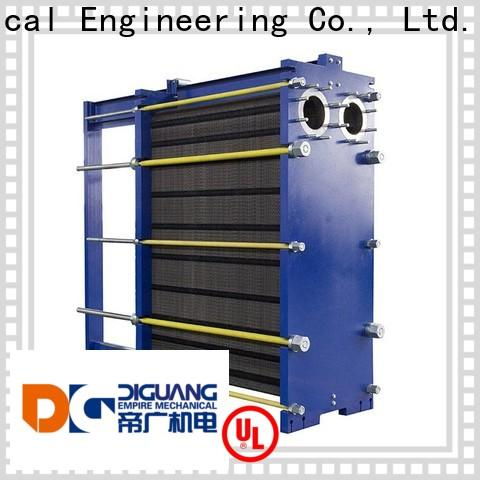DIGUANG plate heat exchanger design for business for transferring heat