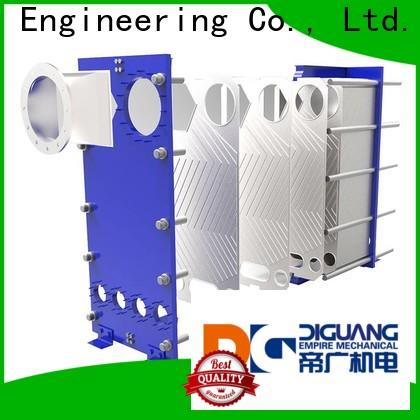 Custom gasketed plate heat exchanger factory for transferring heat