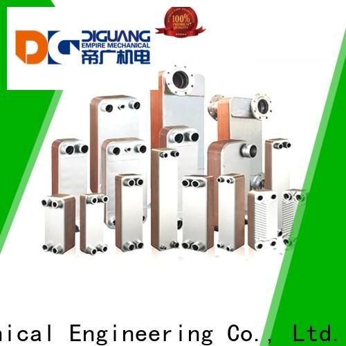 DIGUANG semi welded plate heat exchanger Suppliers for transferring heat