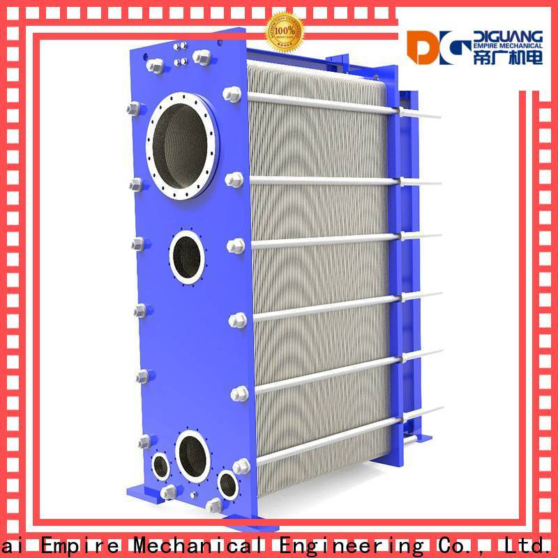 DIGUANG Wholesale plate and frame heat exchanger manufacturers for transferring heat