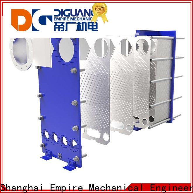 DIGUANG plate and frame heat exchanger sizing factory for transferring heat