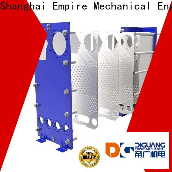 Wholesale custom plate heat exchanger price factory for transferring heat