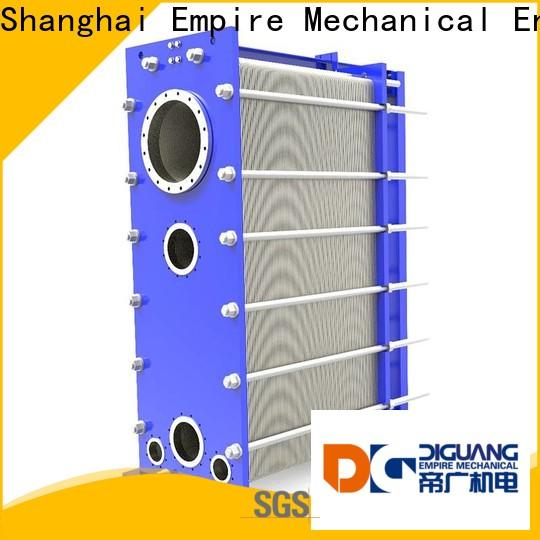 Bulk purchase high quality plate and frame heat exchanger price manufacturers for transferring heat