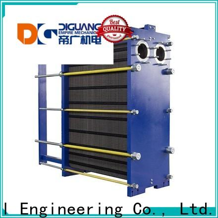 Bulk purchase custom compact plate heat exchanger Suppliers for transferring heat