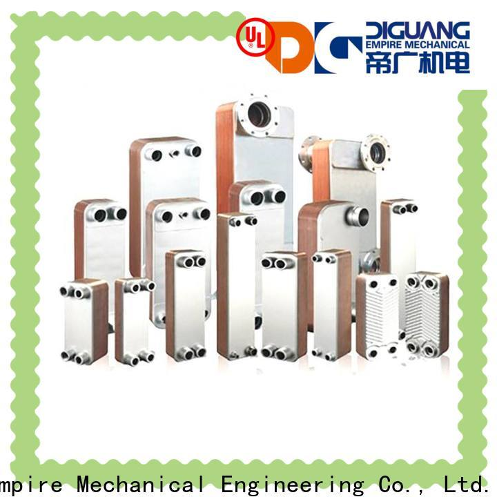 Wholesale ODM plate coolers heat exchangers manufacturers for transferring heat