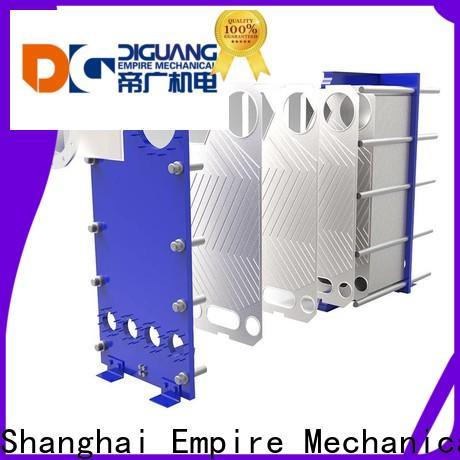 Custom best flat plate heat exchanger installation company for transferring heat