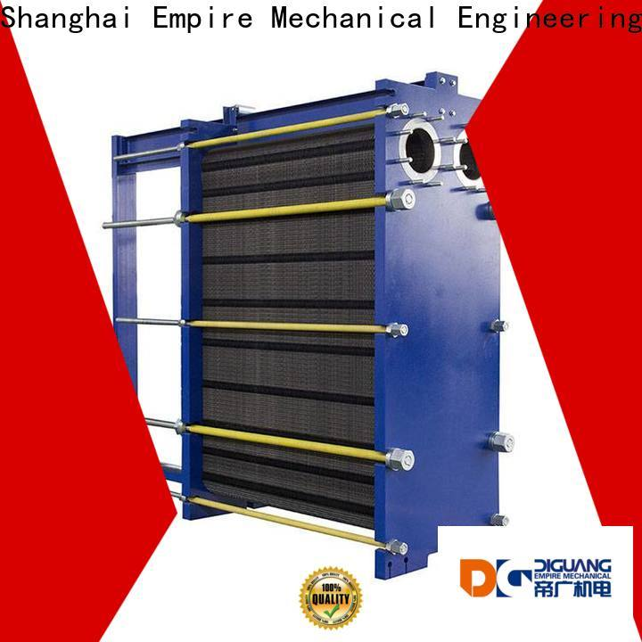 Bulk purchase OEM plate and frame heat exchanger sizing Suppliers for transferring heat